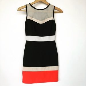 Windsor Colorblock bodycon Dress